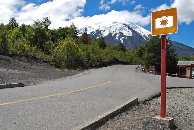 Osorno Volcano road Chile