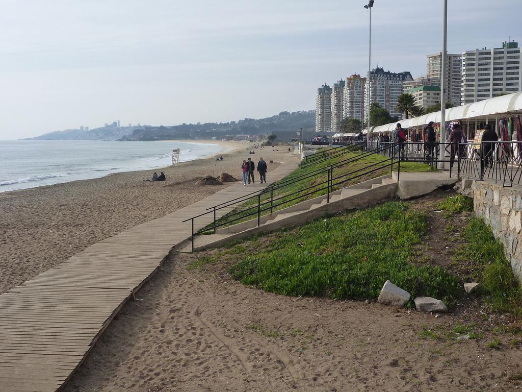 Beach Viña del Mar Chile