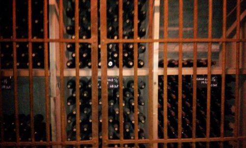 Old cellar Santa Rita vineyard Chile