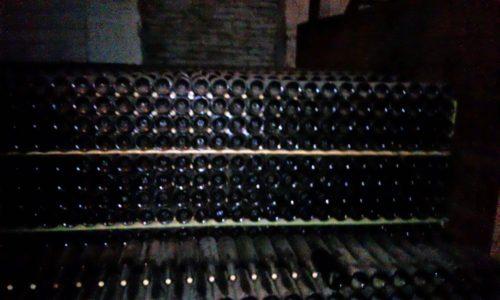 Old wines in Santa Rita Cave Chile
