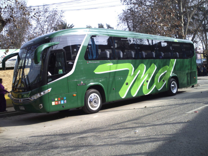 Motor Coach Mercedes-Benz Chile