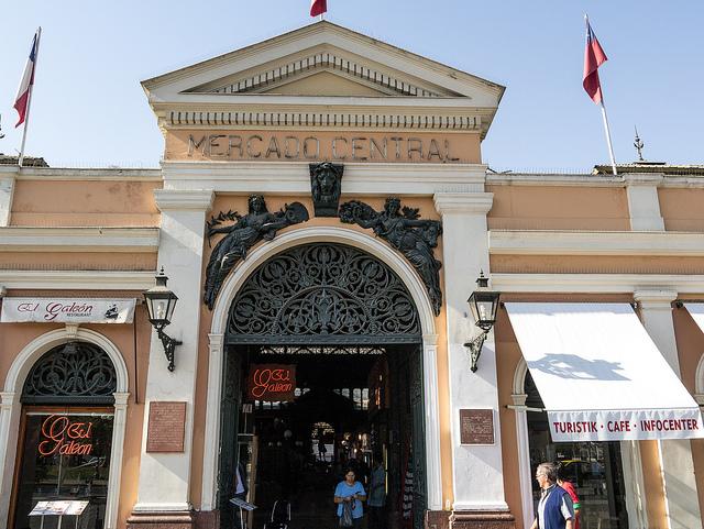 Santiago Chile Central Market