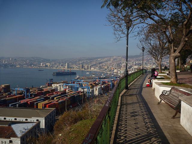Valparaiso, Artilleria Hill Chile