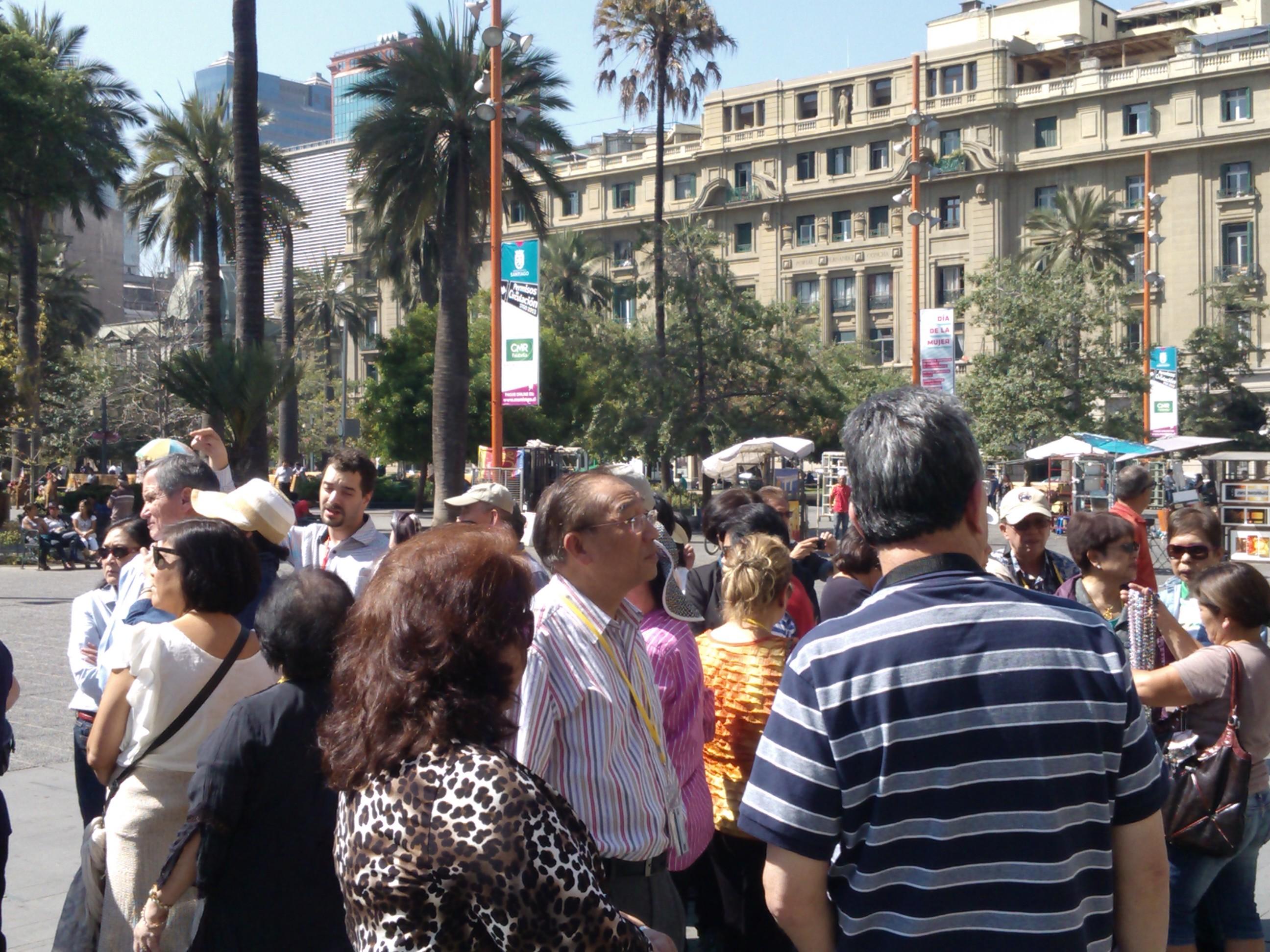 Plaza de Armas, Visiting the Main Square in Santiago Chile