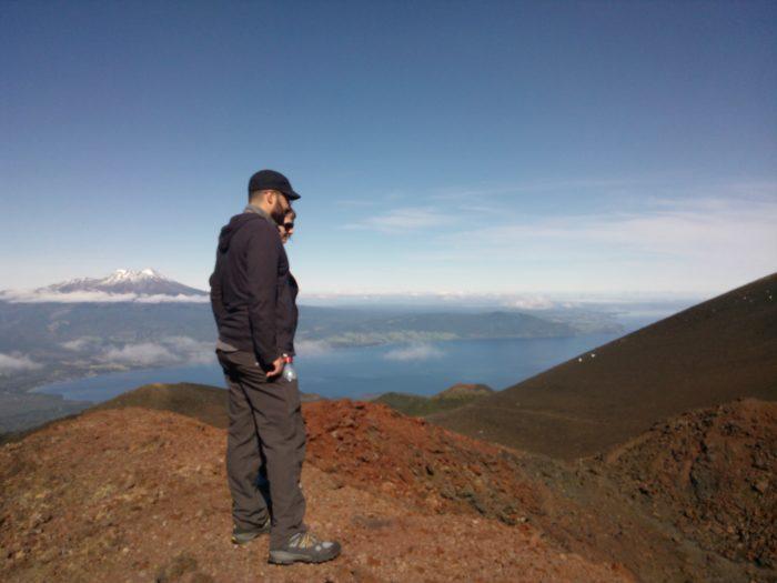 Osorno Volcano Read Crater Chile