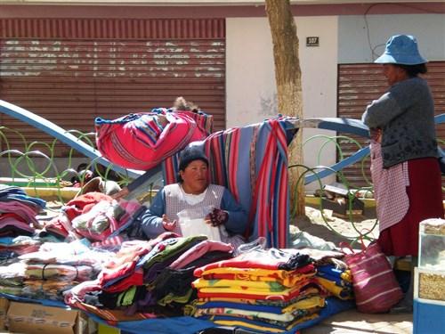 Tupiza Market, Bolivia