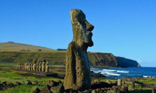 Isla Pascua Moai Chile