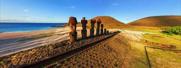 Isla de Pascua Moais, Chile
