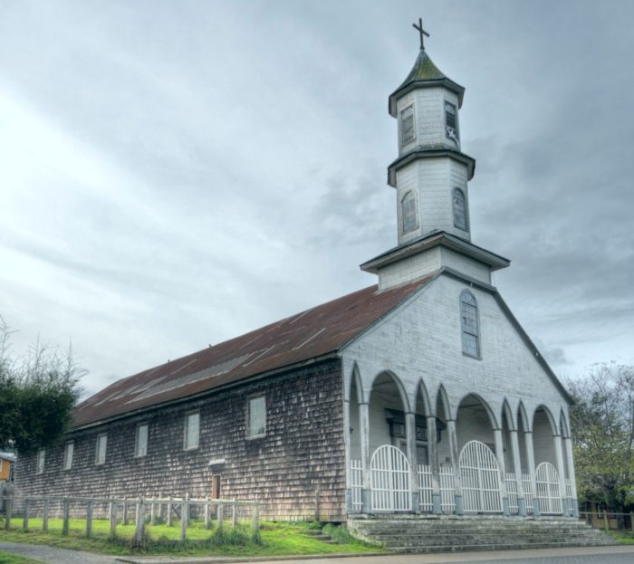 Dalcahue Church, Chiloe, Chile