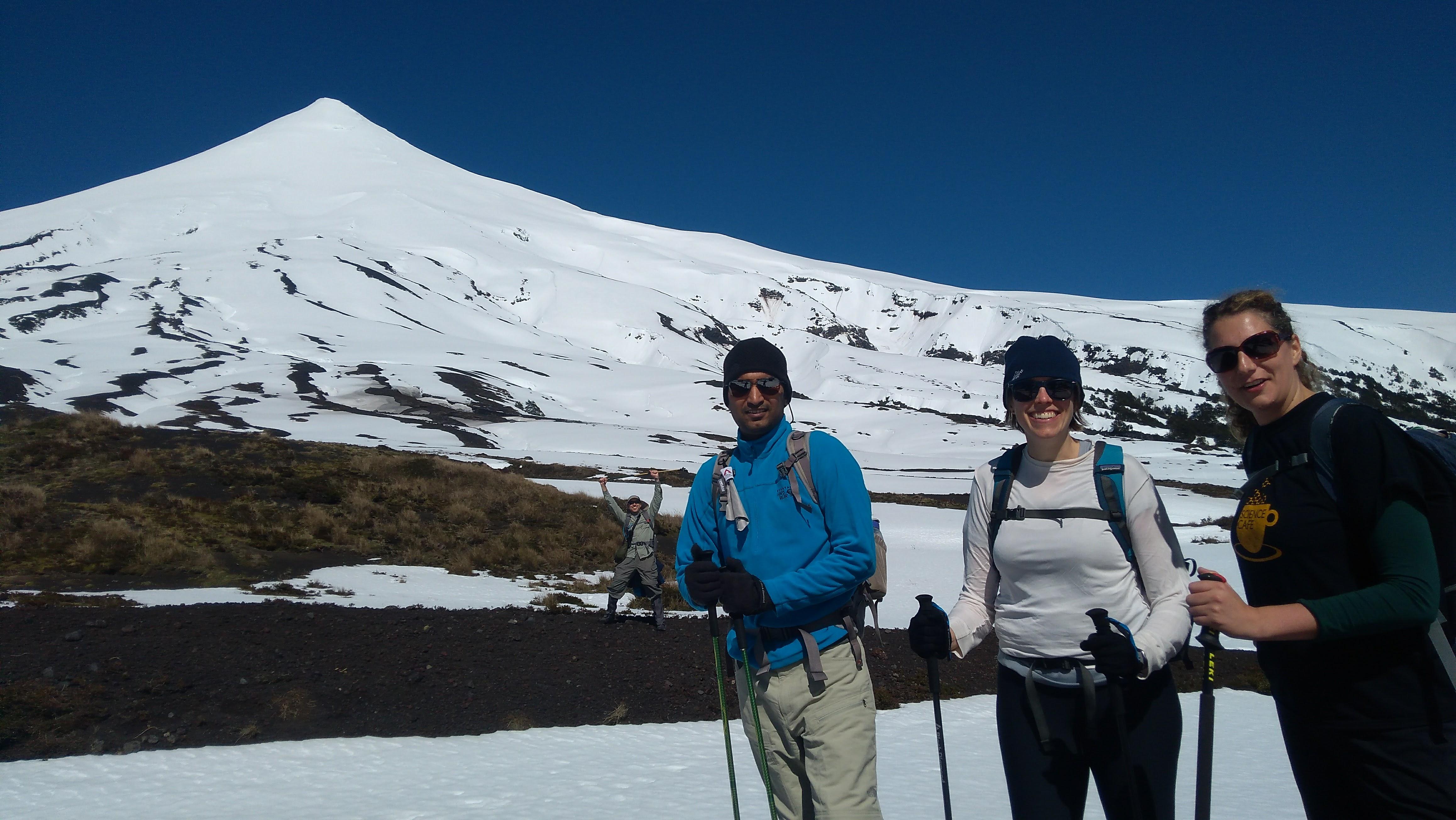 Osorno volcano trekking day