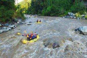 Rafting maipo river